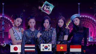 "ITZY ""달라달라(DALLA DALLA)"" Cover Dance From - Korea,Thailand,Vietnam,Japan,Indonesia"