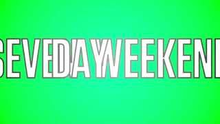 "JTX ""Seven Day Weekend"" (OFFICIAL LYRIC VIDEO)"