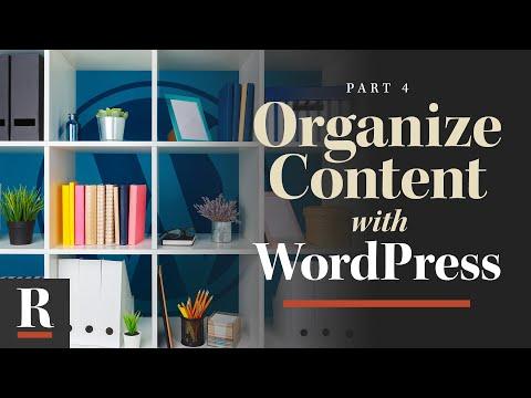 Content Management [WordPress Basics: Part 4]