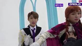 Prince Woojin Sing for Park Ana