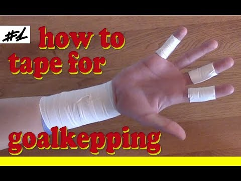 How to tape for goalkeeping