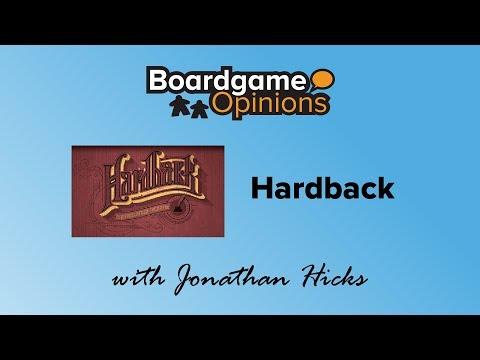 Boardgame Opinions: Hardback
