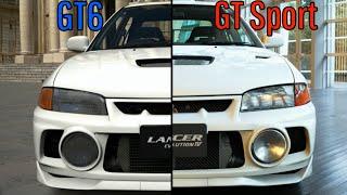 Gran Turismo 6 Vs Gran Turismo Sport Graphic Comparison II