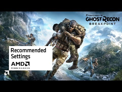 Ghost Recon Breakpoint Recommended Settings