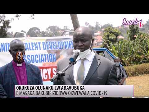 Abavubuka e Masaka basomesezza abantu okwetangira COVID-19