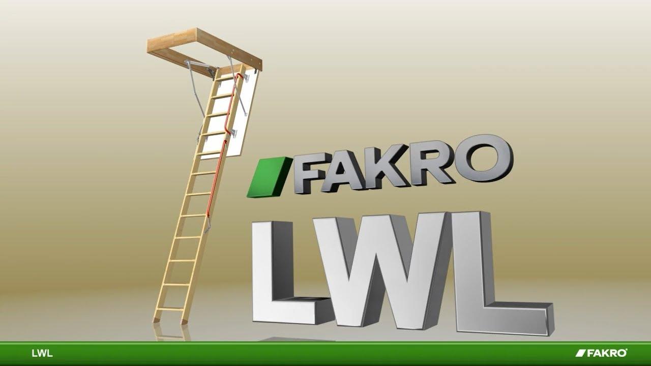 LWL Wooden Loft Ladder