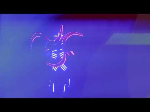 Дивовижне світлове шоу -MetanoiaShow, відео 2