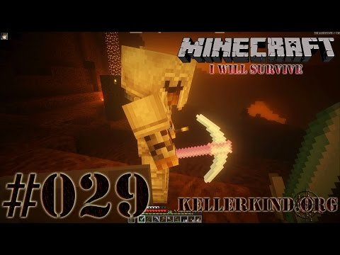 Minecraft: I will survive #029 - Nether again ★ Let's Play Minecraft [HD|60FPS]