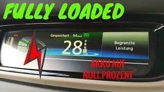 Renault ZOE - Akku auf 0% - STEHENGEBLIEBEN! // FULLY LOADED
