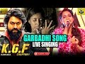 Garbadhi Song Live Singing By Ananya Bhat | KGF Songs | Chittara Star Awards 2019 | #KGF #Garbadhi