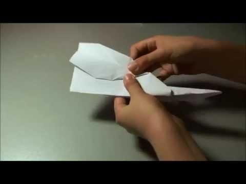Πως να φτιάξεις ένα χάρτινο αεροπλανάκι