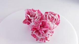 DIY:EASY FABRIC FLOWERS TUTORIAL