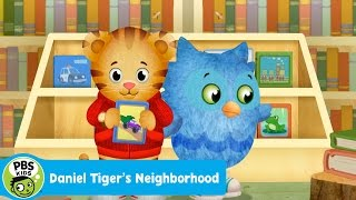 DANIEL TIGERS NEIGHBORHOOD   So Many Books At The Library   PBS KIDS