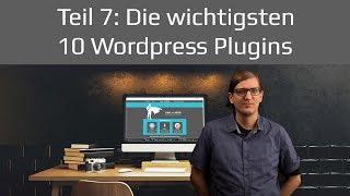 Die10wichtigstenWordpressPlugins|WordpressTutorial2017Teil7deutsch/german