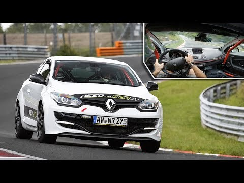 Driving a rental Renault Mégane RS on the 24h of Nürburgring full layout!