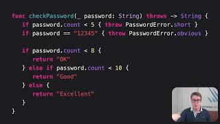 How to handle errors in functions – Swift for Complete Beginners