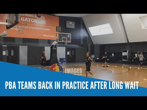 [Inquirer]  PBA teams back in practice after long wait