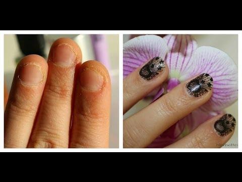 Die schnelle Behandlung der Nägel nach dem Ansetzen
