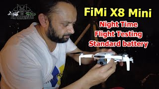 Fimi X8 Mini GPS Aerial filming drone Night Flight with Standard battery
