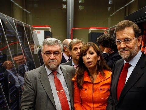 Mariano Rajoy visita las instalaciones del Centro Nacional de Supercomputación en Barcelona