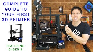 Complete beginner's guide to 3D printing - Assembly, tour, slicing, levelling and first prints