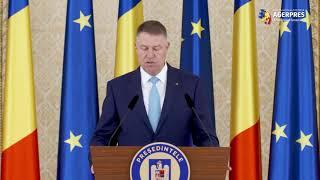 Iohannis: România susţine demersurile UE care trebuie să se implice mai mult în detensionarea situaţiei în Orientul Mijlociu