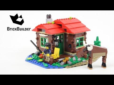 Vidéo LEGO Creator 31048 : La cabane du bord du lac
