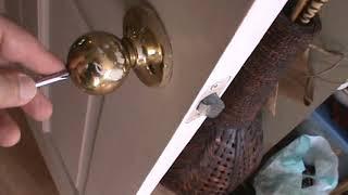 How to Unlock Privacy Handle Door Knob