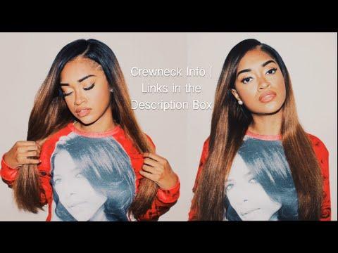 Aaliyah Love Rose Crewneck | Bri Hall