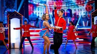 Caroline Flack & Pasha Kovalev Jive to 'Crocodile Rock' - Strictly Come Dancing: 2014 - BBC One