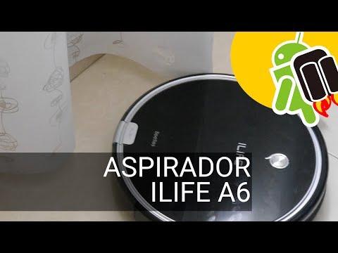 Análisis robot aspirador iLife A6: buena elección