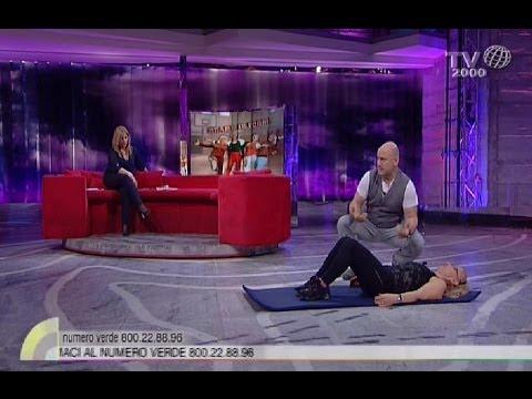 Sperimentazione di muscoli e articolazioni
