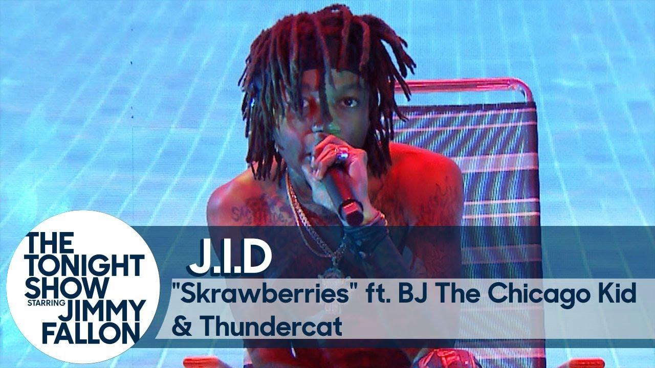 J.I.D ft. BJ The Chicago Kid and Thundercat: Skrawberries thumbnail