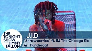 J.I.D ft. BJ The Chicago Kid and Thundercat: Skrawberries