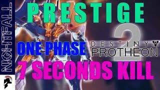 Destiny 2 - 7 seconds Boss Kill - Prestige Nightfall - The Inverted Spire