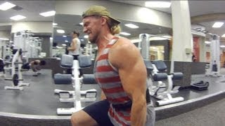 Gym Workout Routine - Legs Exercises - Tuesday by Buff Dudes