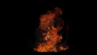 Fireball Explosion | Explosion With Alpha Channel