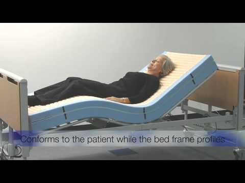 Invacare Softform Premier MaxiGlide video - designed to reduce shear and friction