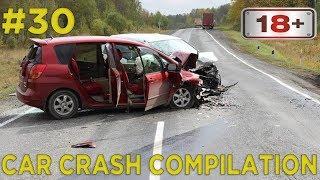 Car crash compilation Dash cam accidents Подборка Аварий и Дтп #30