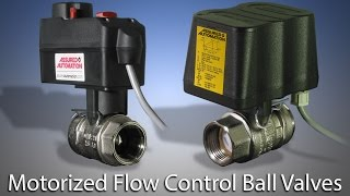 Motorized Ball Valves for HVAC