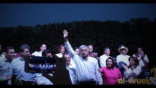 Así despidieron a Andrés Manuel López Obrador #AMLO en San Juan del Río, Qro. (9-V-2018)
