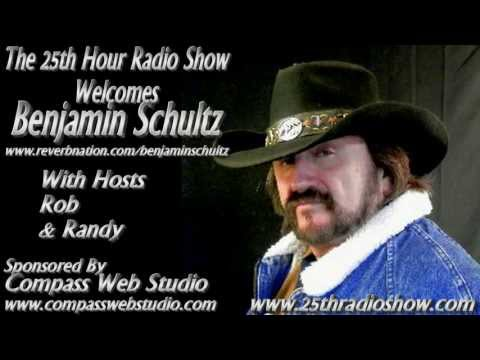 "Benjamin Schultz On ""The 25th Hour Radio Show"" With Hosts Rob & Randy 4/9/13"