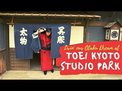 TOEI Kyoto Studio Park 東映太秦映画村: Living Our Otaku Dream! (Spring 2017)