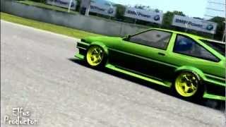 Toyota Corolla AE86 (Trueno) - Fidanza-elFusS~ Drifting