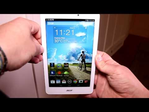 Acer Iconia Tab 8 A1-840 FHD hands on at Computex 2014 [ENGLISH]