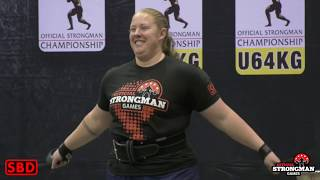 Worlds Strongest Woman 2018 - Official Strongman Games