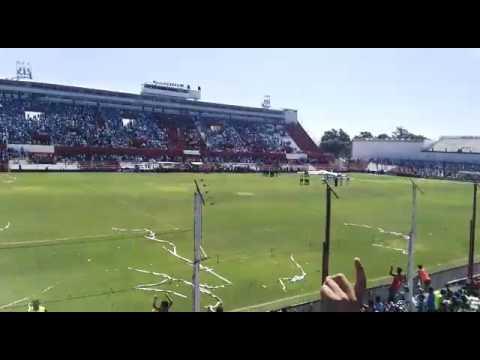 """""""Hinchada de Belgrano en Cancha de Instituto"""" Barra: Los Piratas Celestes de Alberdi • Club: Belgrano"""