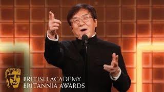 Jackie Chan's Light-Hearted Acceptance Speech | 2019 BAFTA Britannia Awards