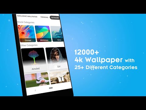 4K Wallpapers - HD, Live Backgrounds, Auto Changer .APK Video Trailer
