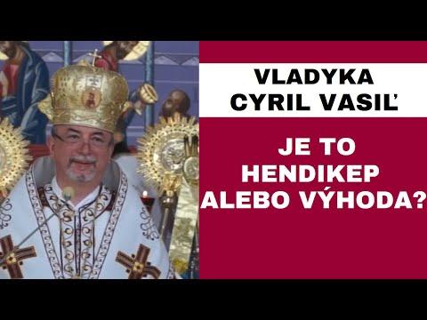HOMÍLIA - Vladyka Cyril Vasiľ SJ: Sme súčasťou dvoch kultúr - východnej a západnej...